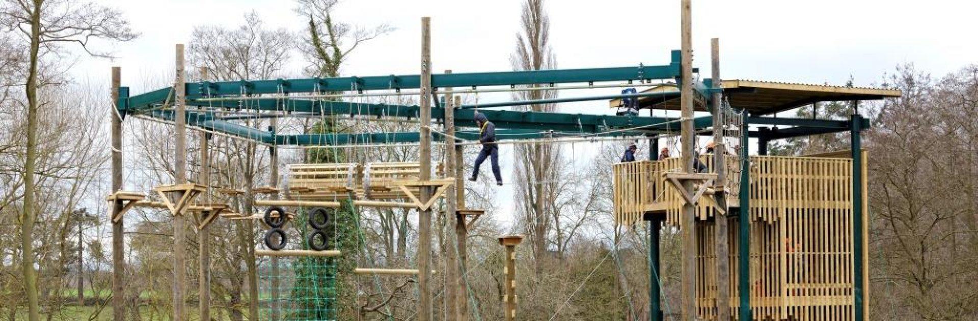 High Aerial Trek Ropes