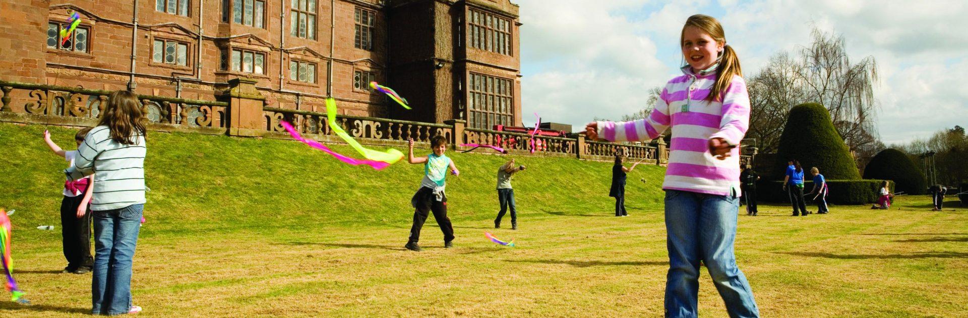 Circus Skills at Condover Hall