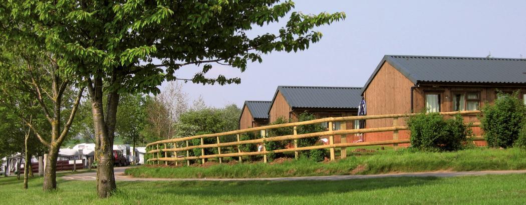 View across accommodation blocks at Croft Farm | JCA