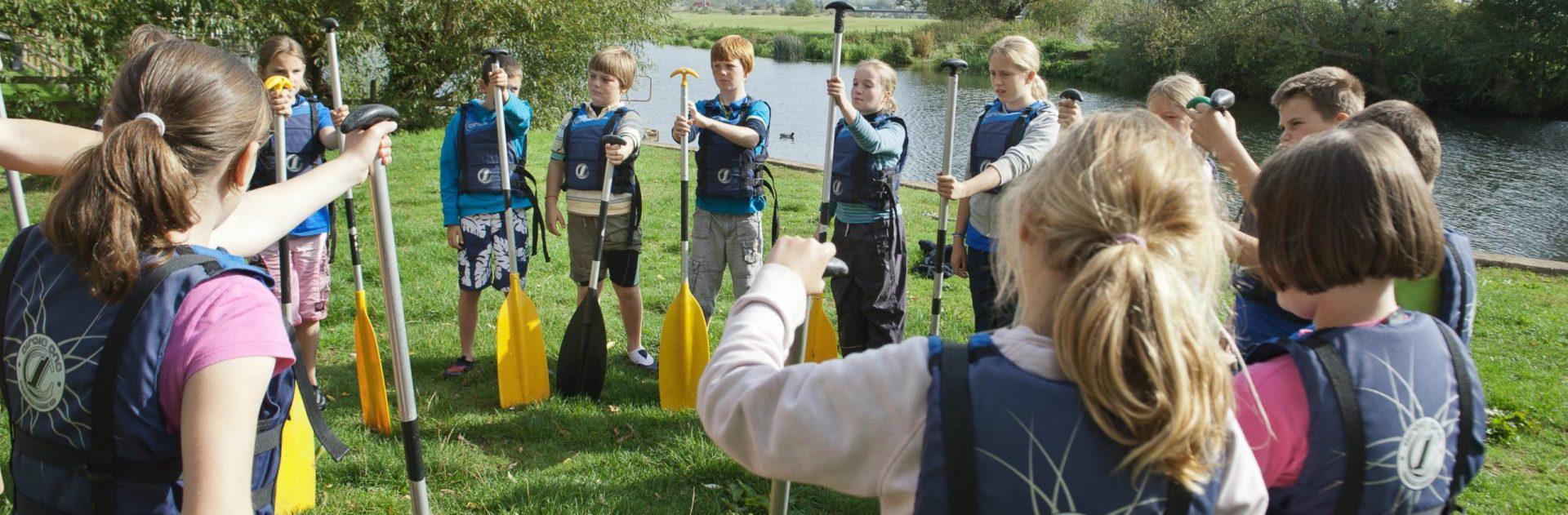Safe Kayaking for Children