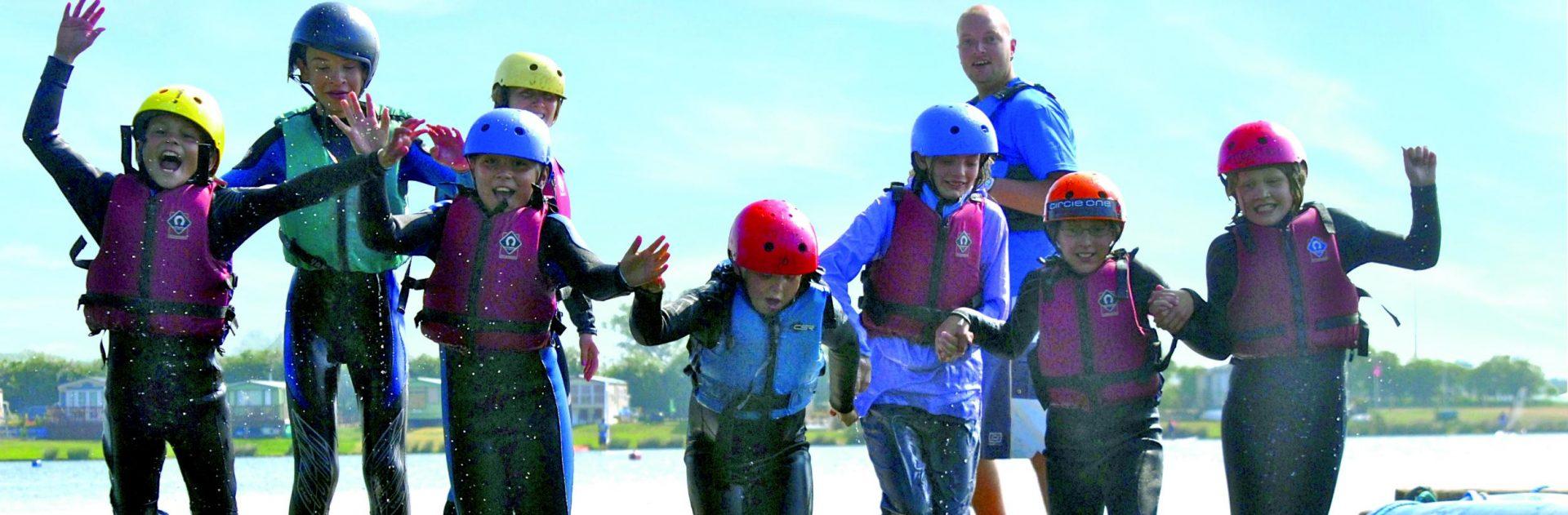 River kayaking water sports