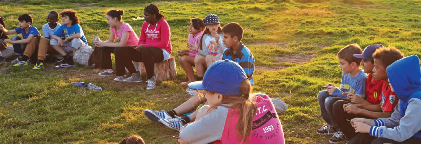 Children around the campfire | JCA