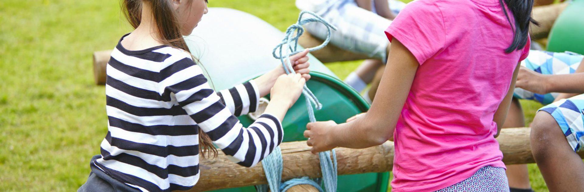 Children buggy building