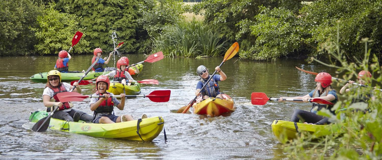 sit on top kayaks Rookesbury JCA