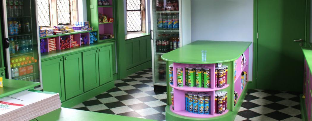 Condover Hall tuck shop